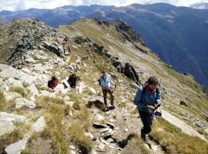 Rila ridge to the Ivan Vazov hut