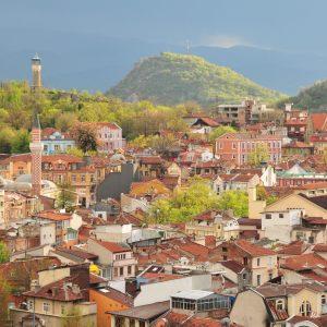 Hills in Plovdiv